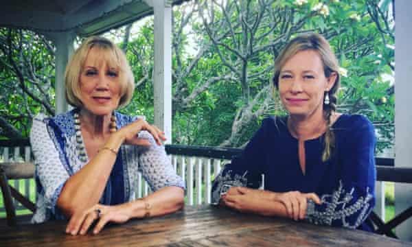Lindy Morrison and Amanda Brown