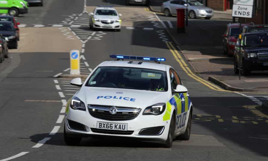 West Midlands police car