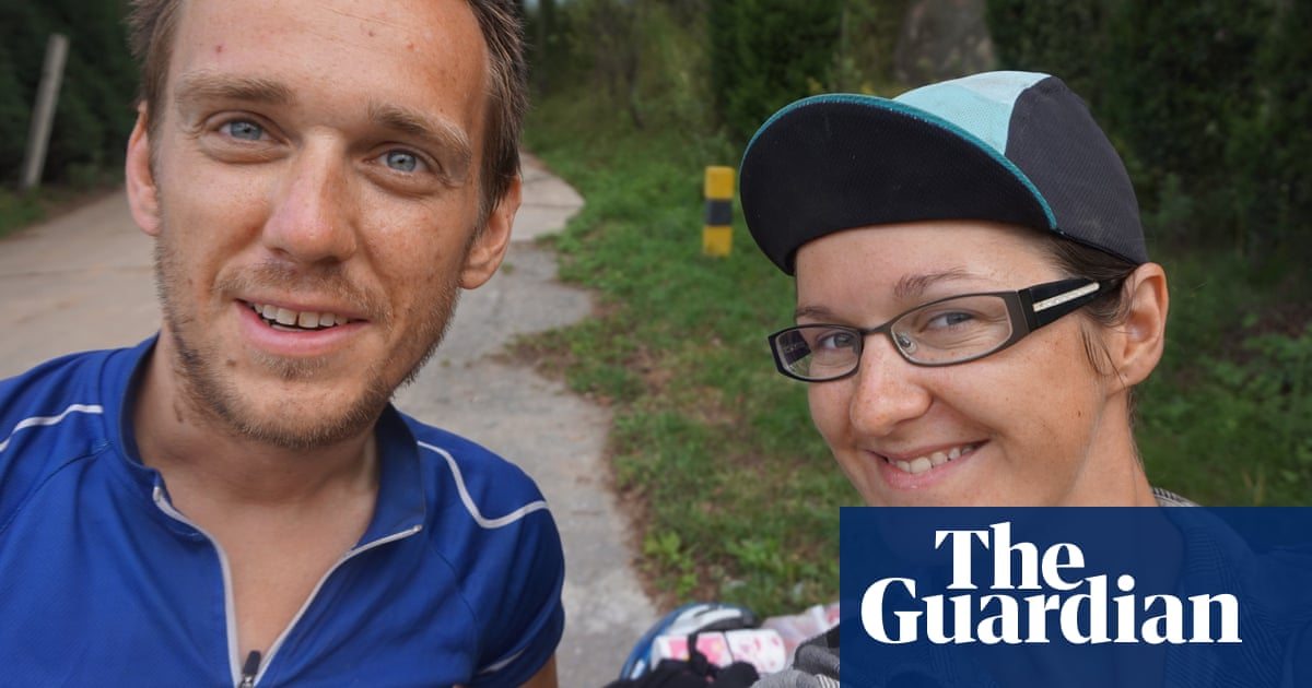 How we met: 'His Tinder profile said he wanted to cycle round the world. I asked: When are we leaving?'