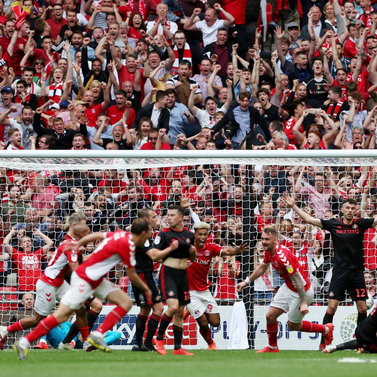 Charlton Athletic 2-1 Sunderland League One play-off final  as