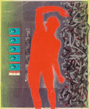 Neon Dancer by David Wojnarowicz, 1982