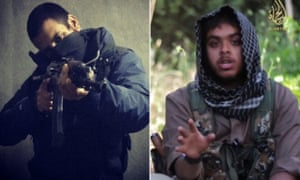 Junaid Hussain (l) and Reyaad Khan (r), British Islamic State fighters killed in Syria.