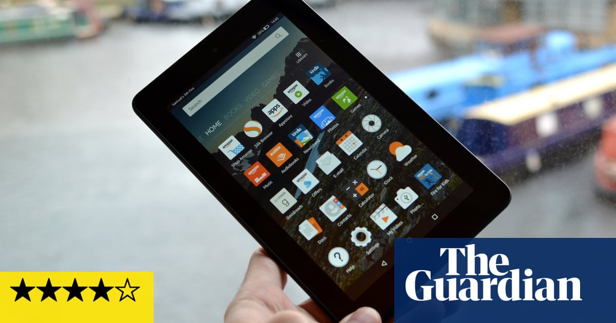cac38e600 Amazon Fire tablet review  a lot of tablet for just £50