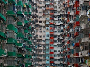 Architecture of Density #119, 2009, by Michael Wolf.