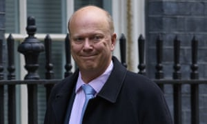 Chris Grayling in Downing Street