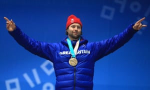 Billy Morgan promised he was in bed early after celebrating his bronze, but admitted he was taken there in a shopping trolley.