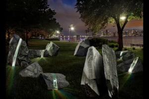 A rendering of the project at Hudson River Park