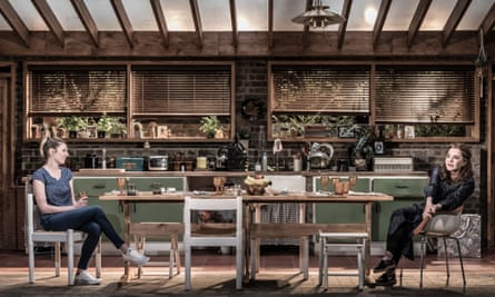 Laura Carmichael and Stockard Channing in Apologia.