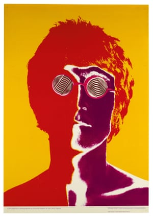 Richard Avedon: Set of posters of The Beatles, 1967 The were first published in January of the following year in Look Magazine in the US, and in the Daily Express in the UK