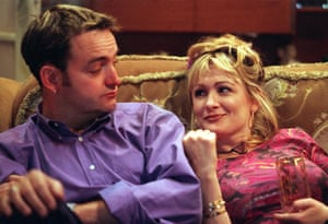 Caroline Aherne and Craig Cash in The Royle Family