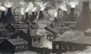 sketch of smoking bottlekilns