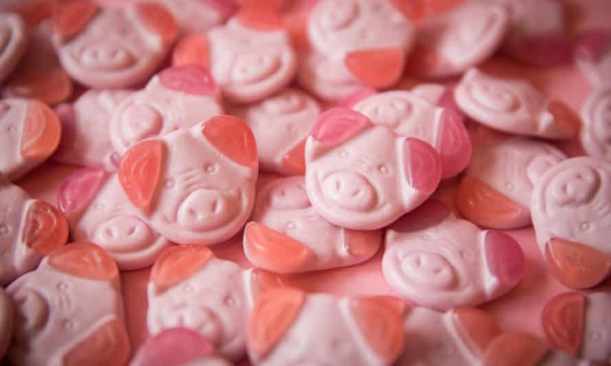 Percy Pig sweets are manufactured in Germany and brought to the UK before being re-exported to Ireland.