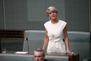 Julie Bishop announces her retirement from politics.