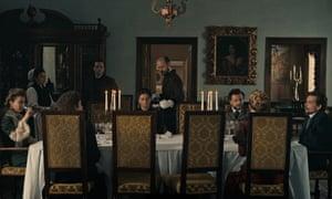 Dinner table conversation … Malmkrog.