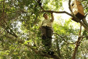 Brazilian conservationist Gabriela Rezende