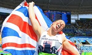 Britain's Sophie Hitchon