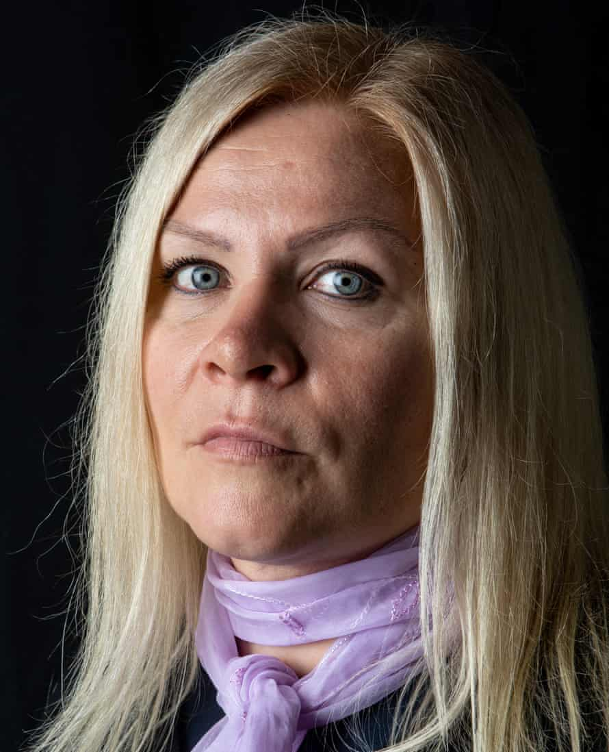 Tiina Jauhiainen a year on from the escape attempt. She now campaigns for her friend's freedom.