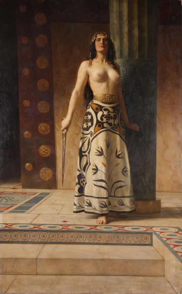 Clytemnestra by John Collier, c1914, Worcester City Museums