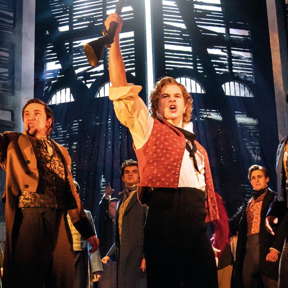 You Still Hear The People Sing Les Mis Protest Anthem Blazes From France To China Musicals The Guardian