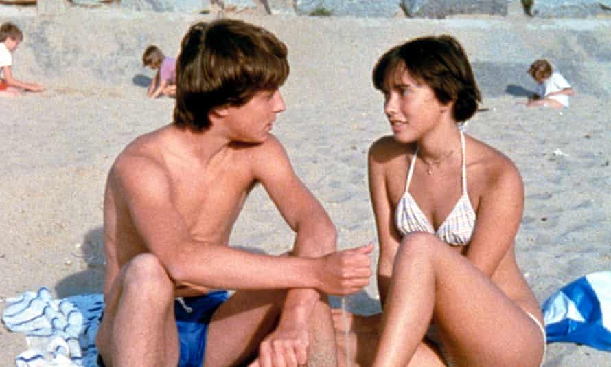 'Like most of Rohmer's films, talk is eloquent and incessant; the subjects are sex, relationships and fidelity.' Simon de La Brosse with Amanda Langlet as Pauline in the charming Pauline at the Beach.