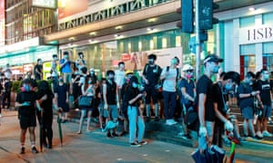Protesters gather outside Mongkok police station demanding the disclosure of CCTV footage in Prince Edward station over a police clearance operation on 31 August