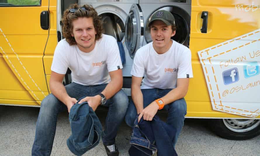 Orange Sky Laundry co-founders Nicholas Marchesi and Lucas Patchett