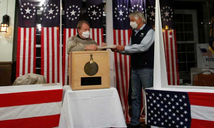 The US presidential election begins in the hamlet of Dixville Notch, New Hampshire, where Joe Biden won by a landslide: five votes to zero.