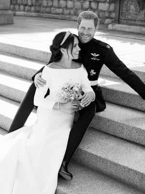 royal wedding photos first official pictures of duke and duchess of sussex released uk news the guardian royal wedding photos first official