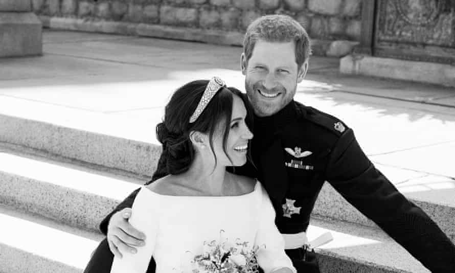 The Duke and Duchess of Sussex in the newly issued official photographs of the royal wedding.