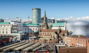 Birmingham city centre.