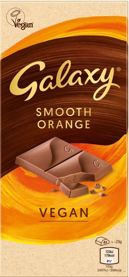 Galaxy's organic vegan bar