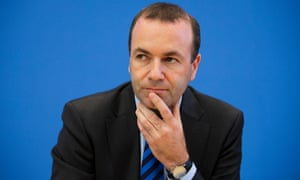 Manfred Weber, leader of the Christian Democrats in the European parliament