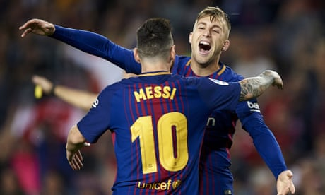 Gerard Deulofeu fires his first Barcelona goal to spark win over Málaga