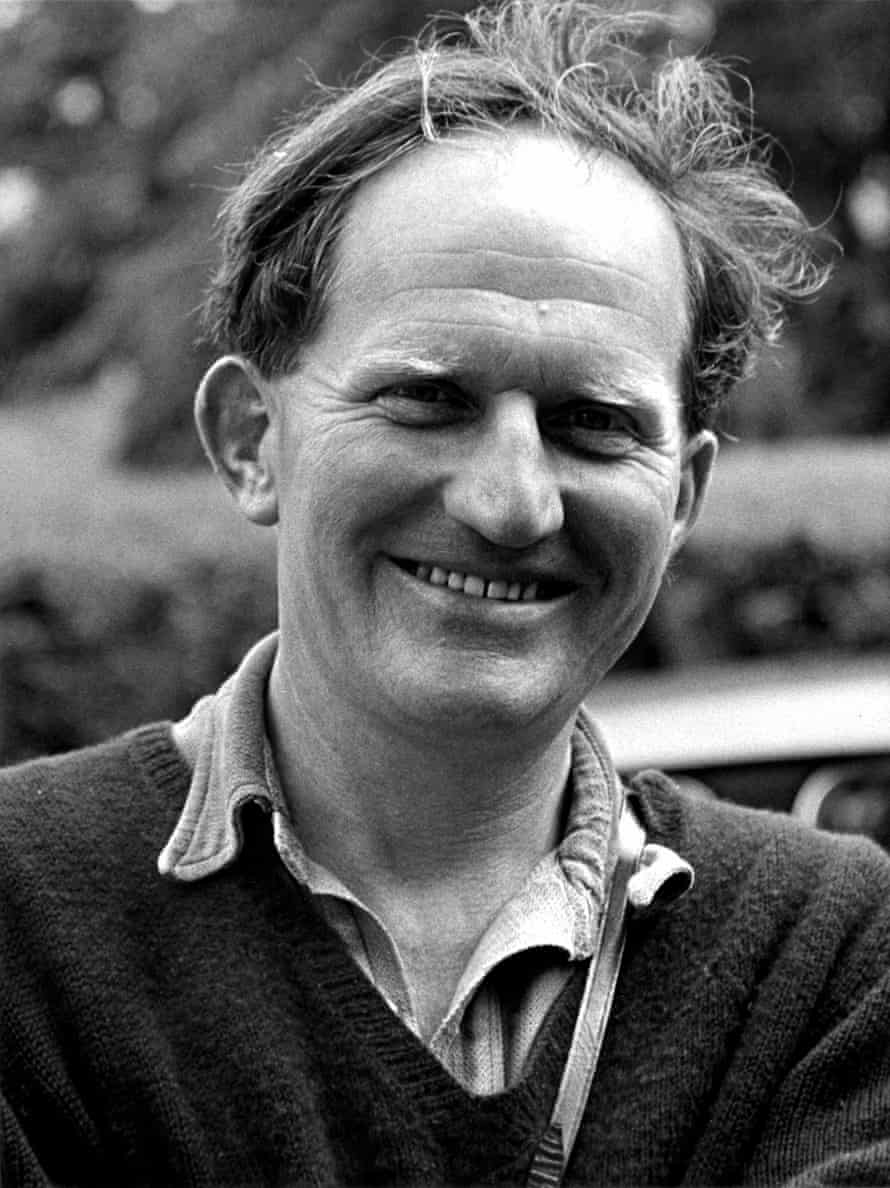 Bill Condry at Ynys Edwin on the day in 1962 that he was commissioned to write the first of his New Naturalist volumes