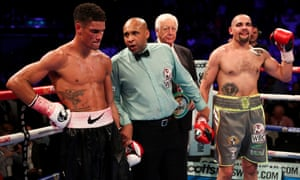The night it all went wrong: 22 October 2016, and Ogogo's defeat to Craig Cunningham in Birmingham, when he boxed on despite sustaining a fractured eye socket in the first round.