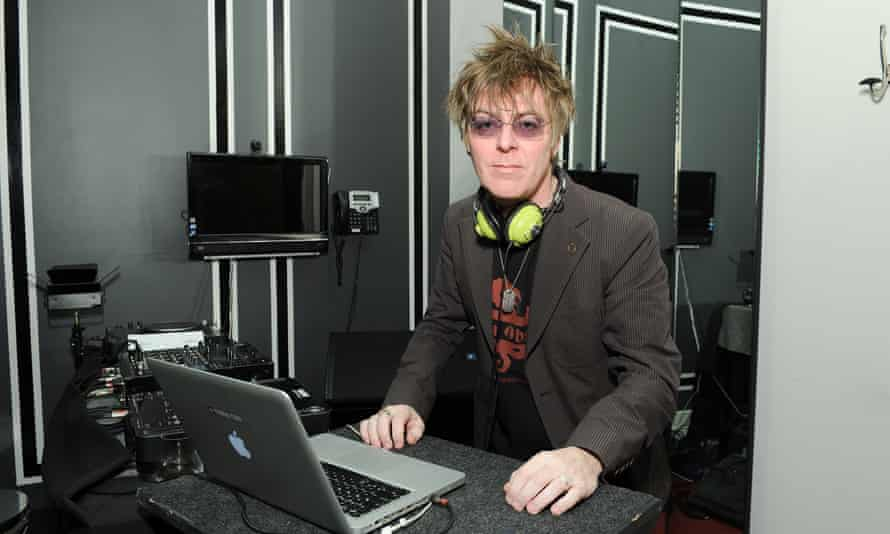 Andy Rourke of the Smiths pictured in 2013.