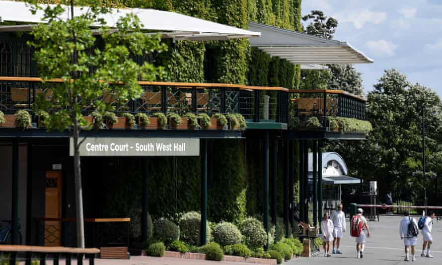 Wimbledon 2020 had been due to start on Monday; organisers hope next year's tournament will 'look like a championship we would all recognise'.