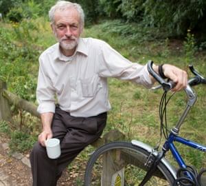 'I am just an ordinary person trying to do an ordinary job' … Jeremy Corbyn.