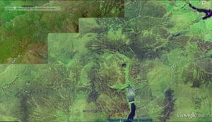 Google Earth view of Walshaw Moor in 2002