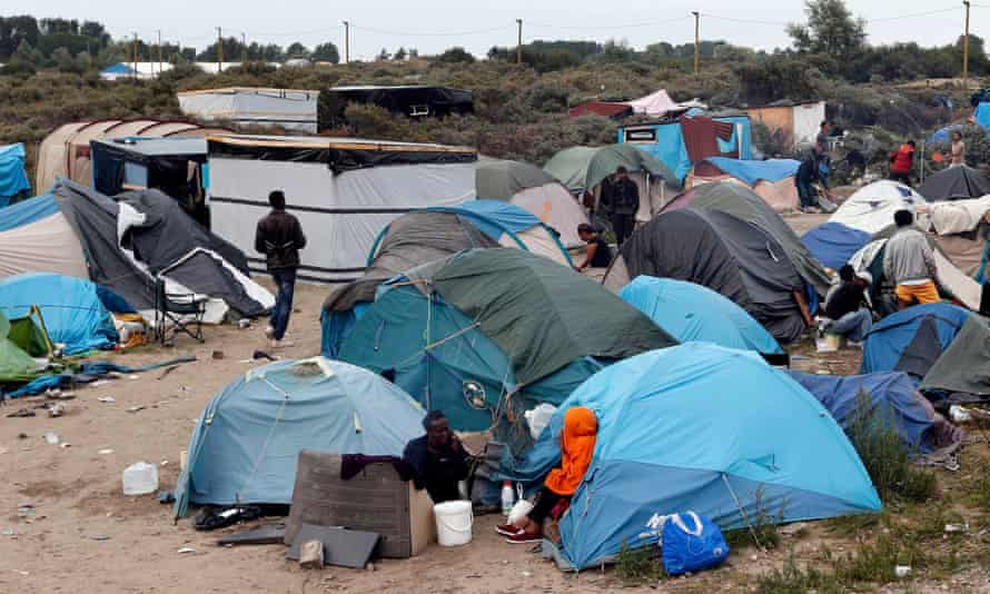 The New Jungle in Calais.
