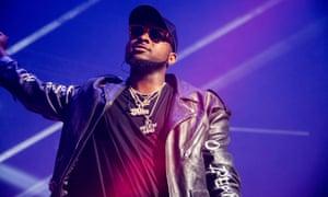 Davido review – Nigerian pop superstar feels the love