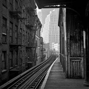 L train station, 1964, New York