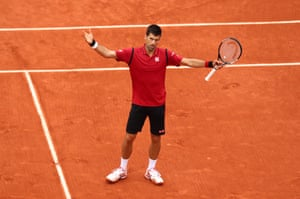 Djokovic wins the French Open.
