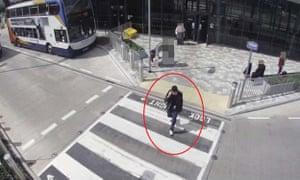 CCTV image of Salman Abedi