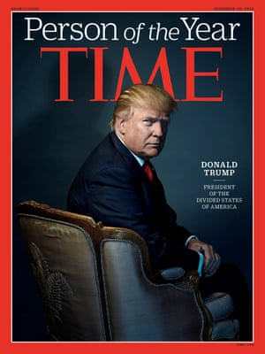 Trump on the cover of Time.