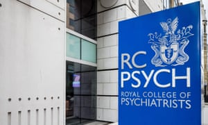 The Royal College of Psychiatrists sign