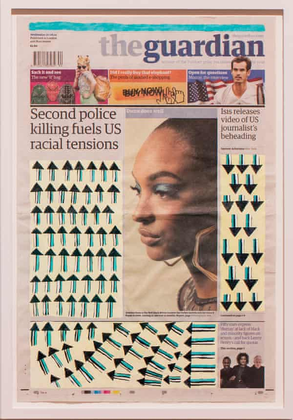 'Patterns highlight this strange and inappropriate use of people as signifiers' … Negative Positives.
