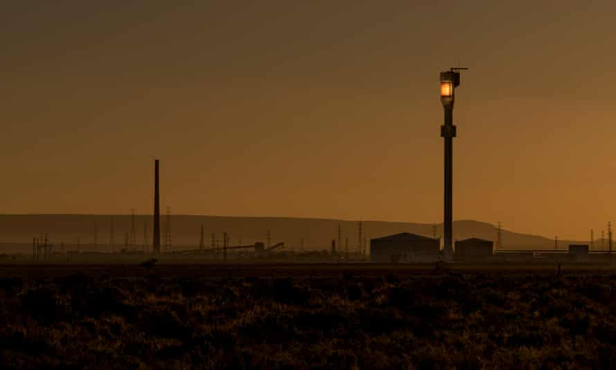 Port Augusta at dusk