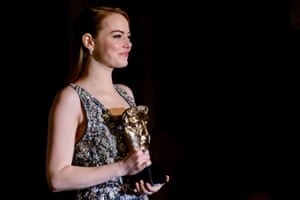 Emma Stone attends the official after party