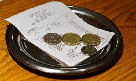 Restaurant tip.